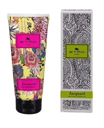 retro jacquard perfumed shower gel 200 ml