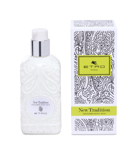 etro new tradition perfumed body milk uomo|donna 200 ml