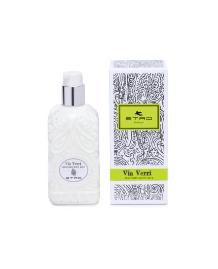 etro via verri perfumed body milk uomo|donna 200 ml