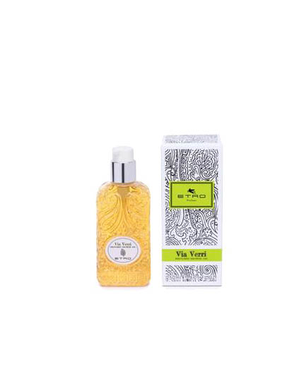 etro via verri perfumed shower gel uomo|donna 200 ml
