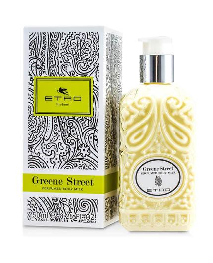 etro greene street perfumed body milk uomo|donna 200 ml