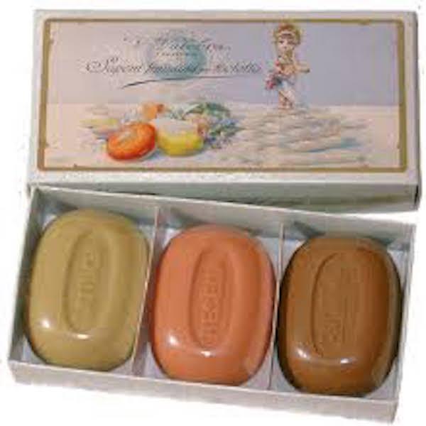 scatola 3 sapone